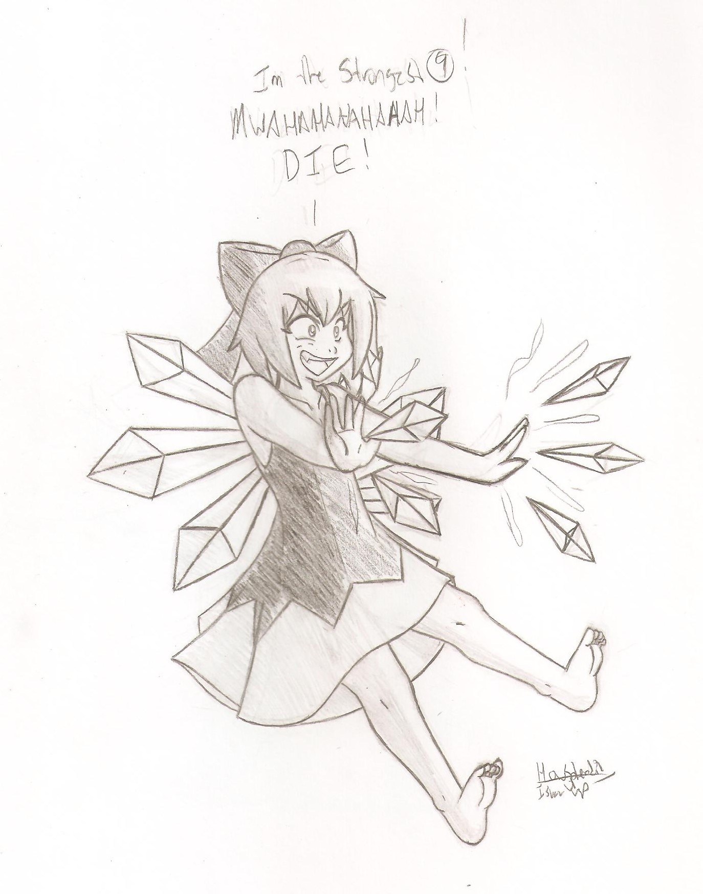 Cirno the strongest