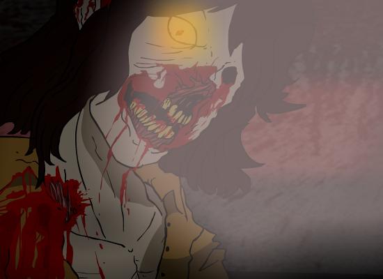 smilly Zombie For Jazza