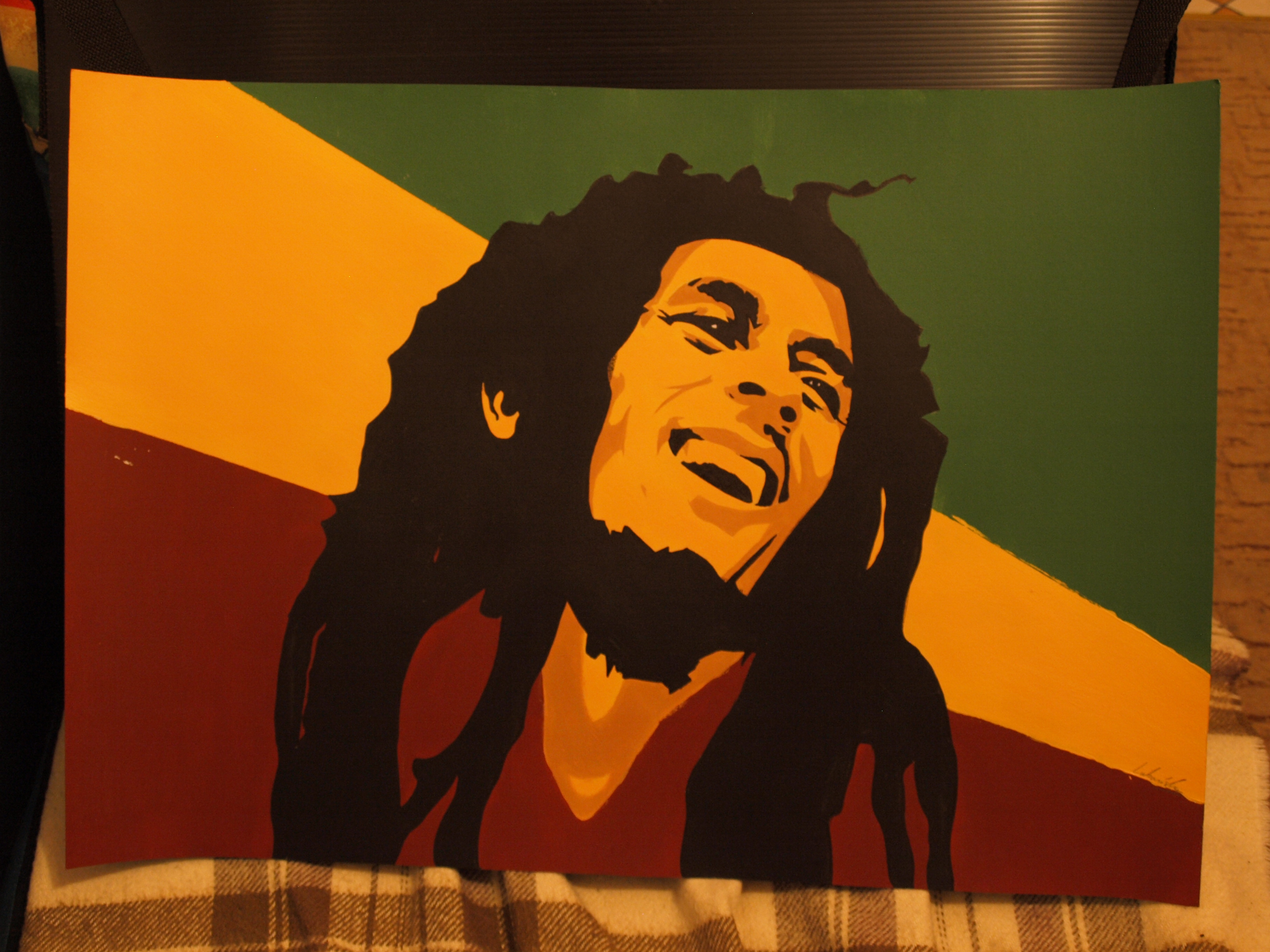 Commission- Bob marley poster