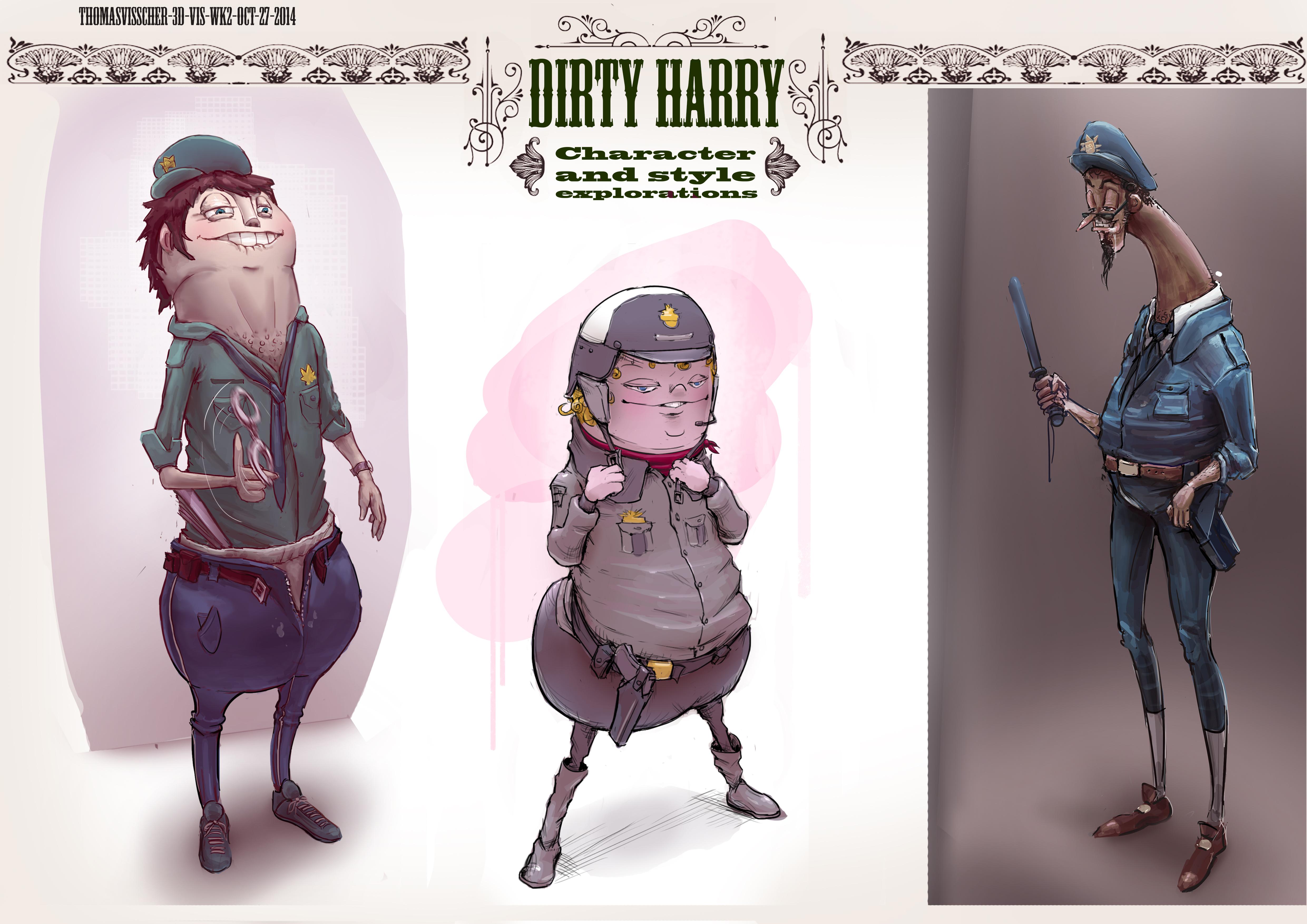Horny harry character sheet
