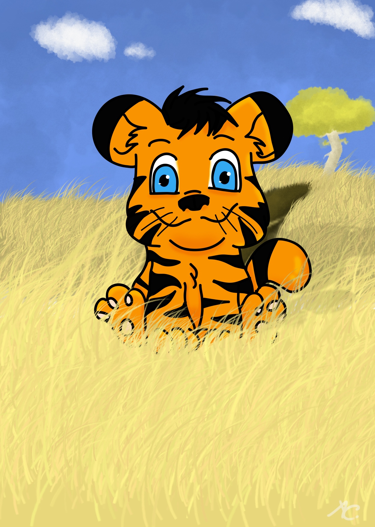 Tyke the Tiger
