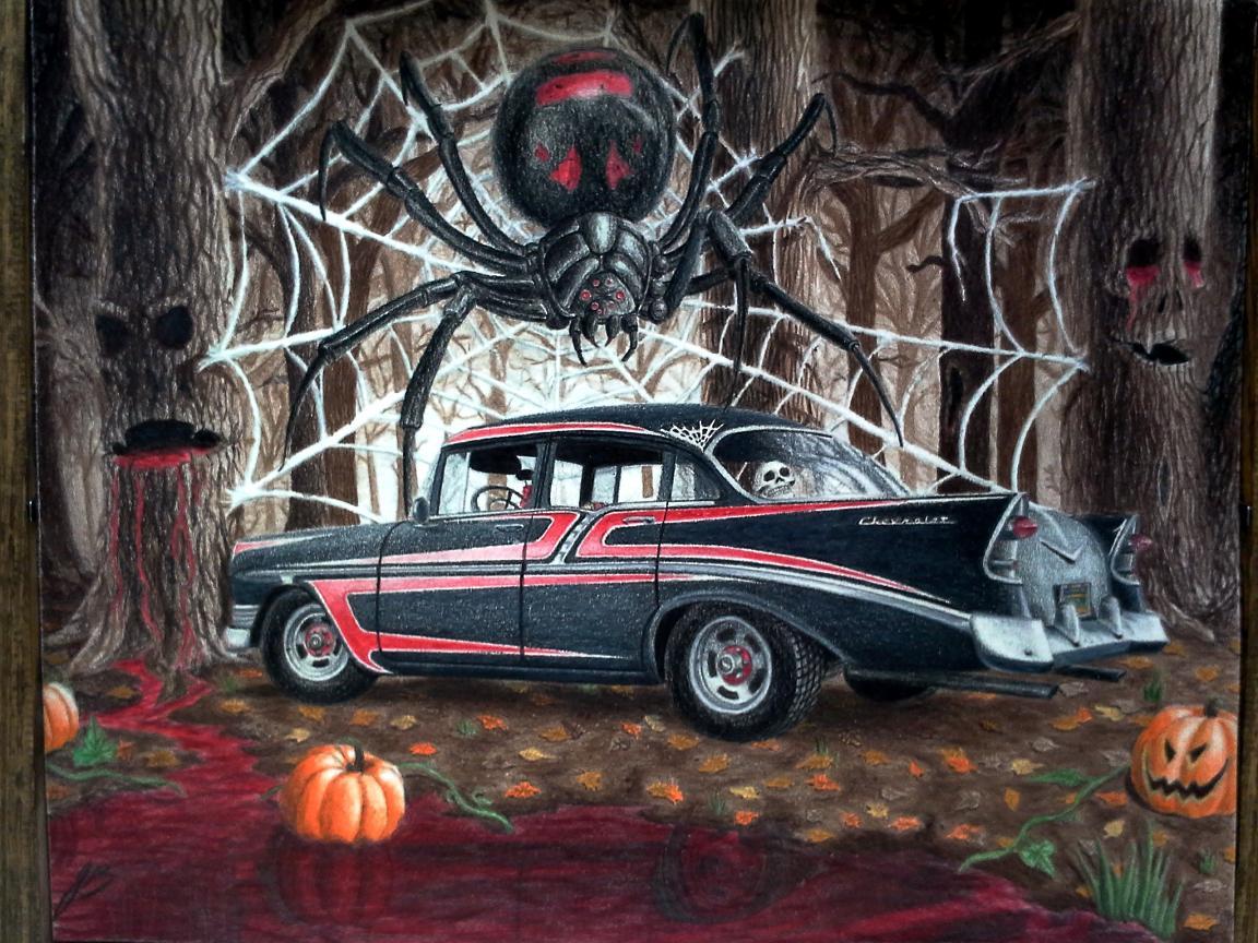 Halloween Chevy