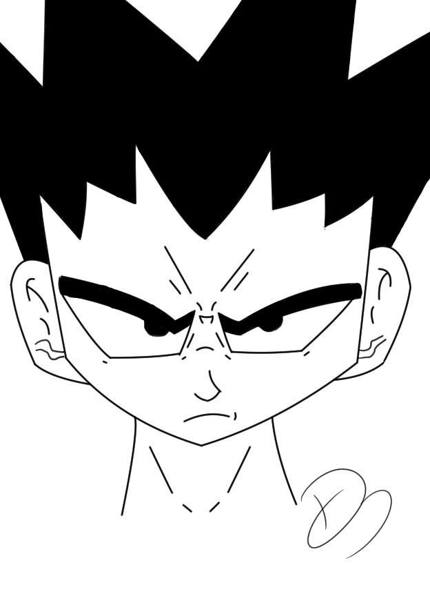 Dragon Ball Z Style
