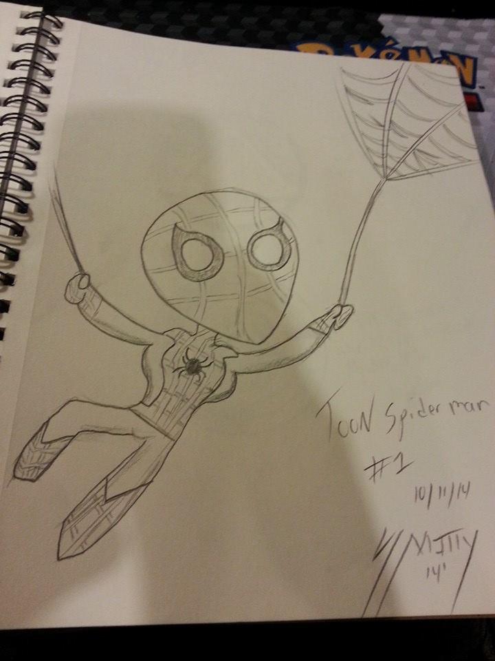 toon spiderman
