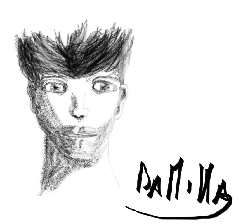 First pencil artwork