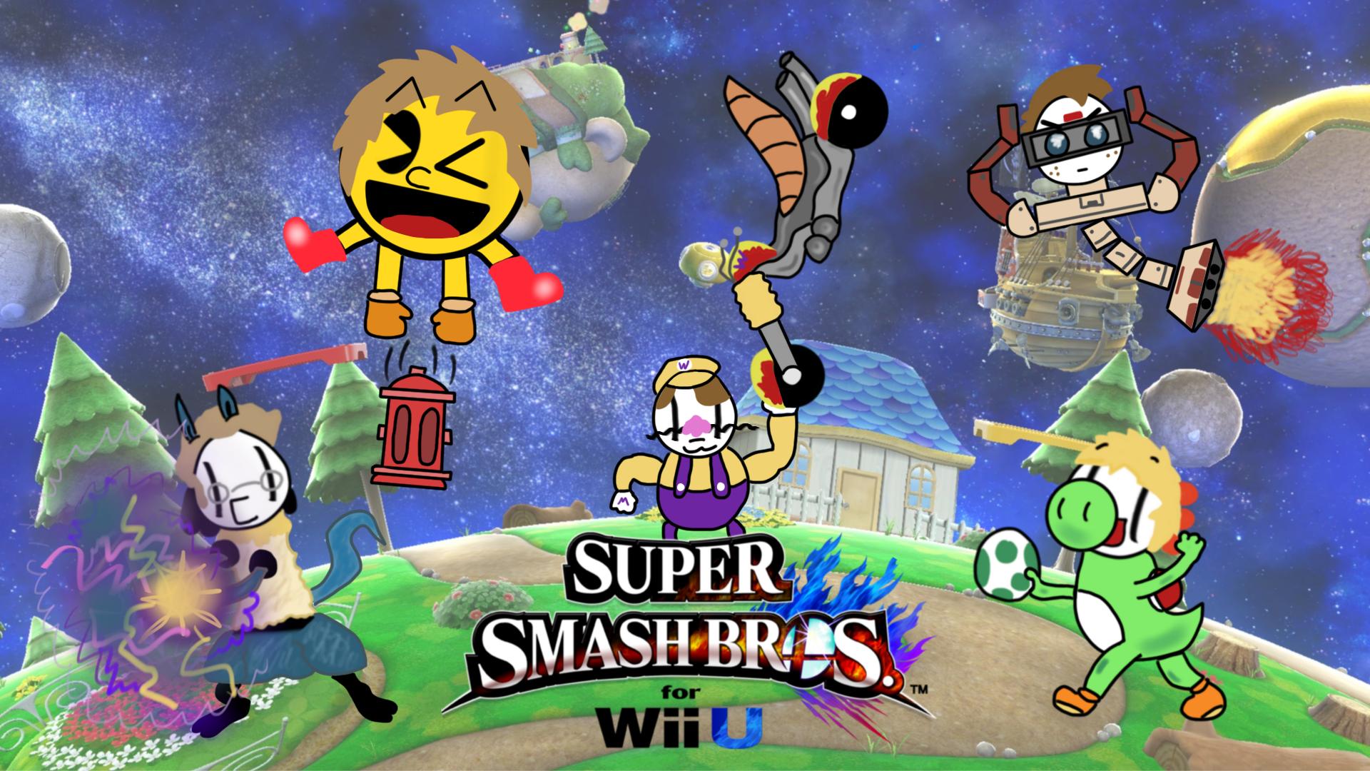 Smash Bros Fuzzy Pickles
