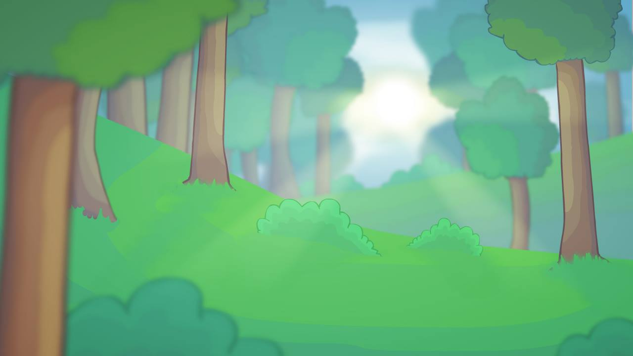 Forest scenery thing