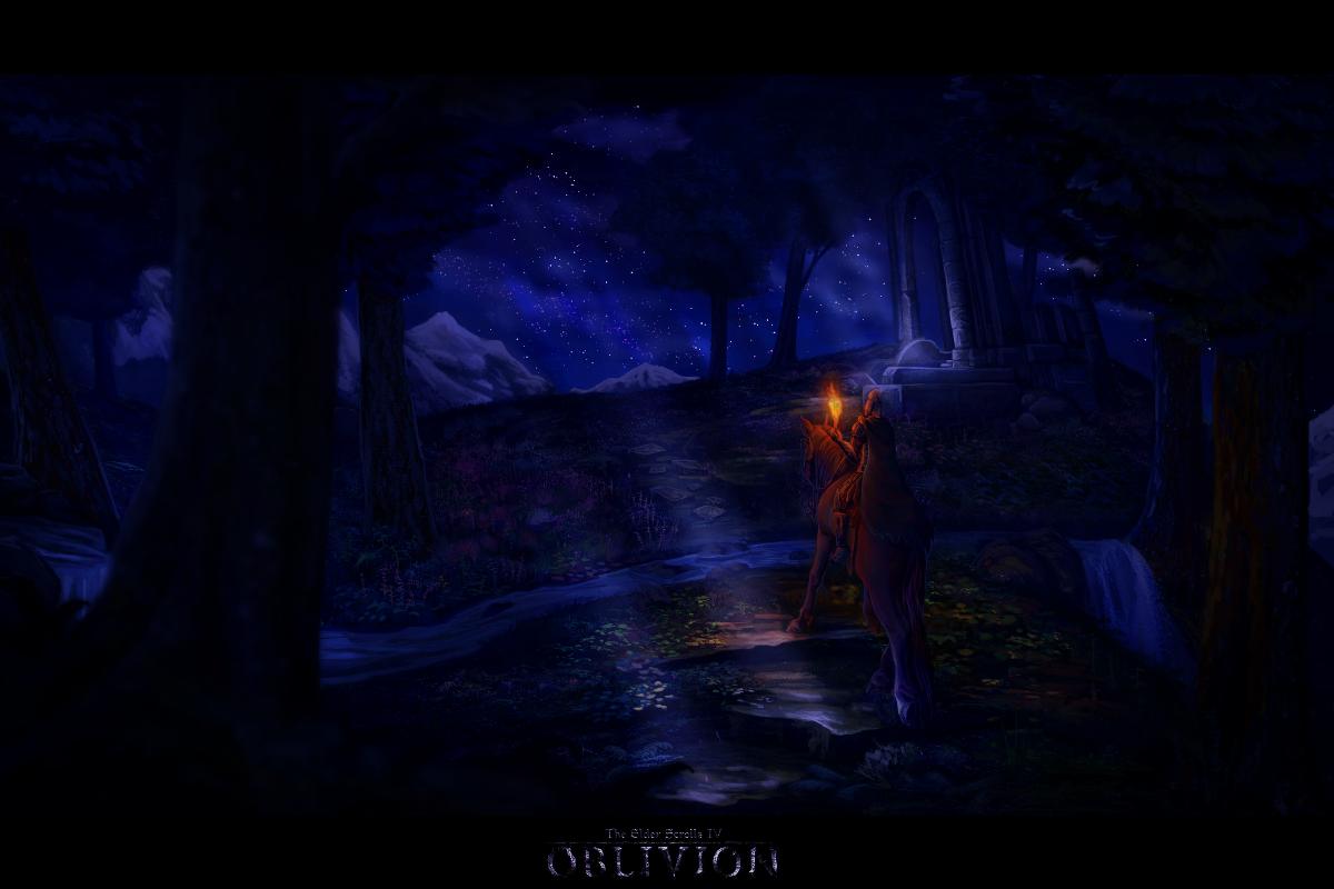 Night in Cyrodiil
