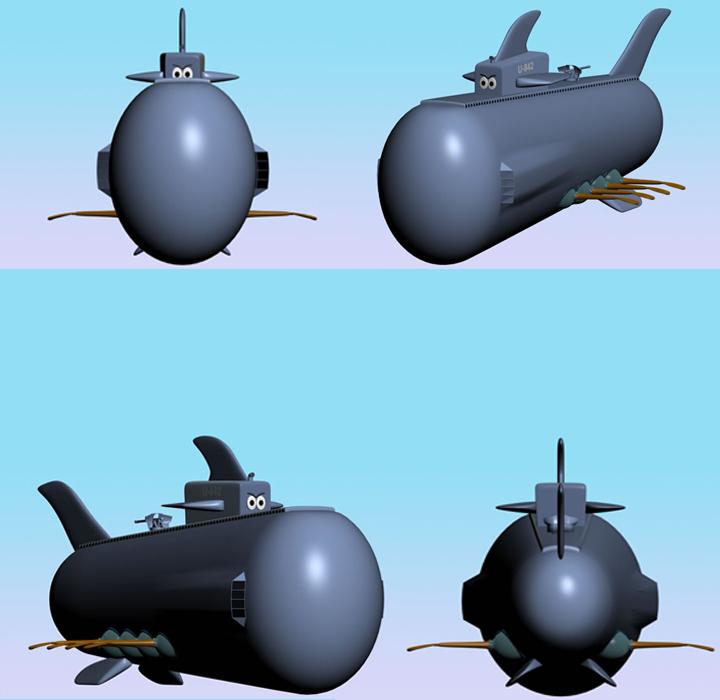 Battle Sub U-842