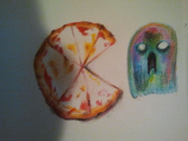 Pizza pacman!!