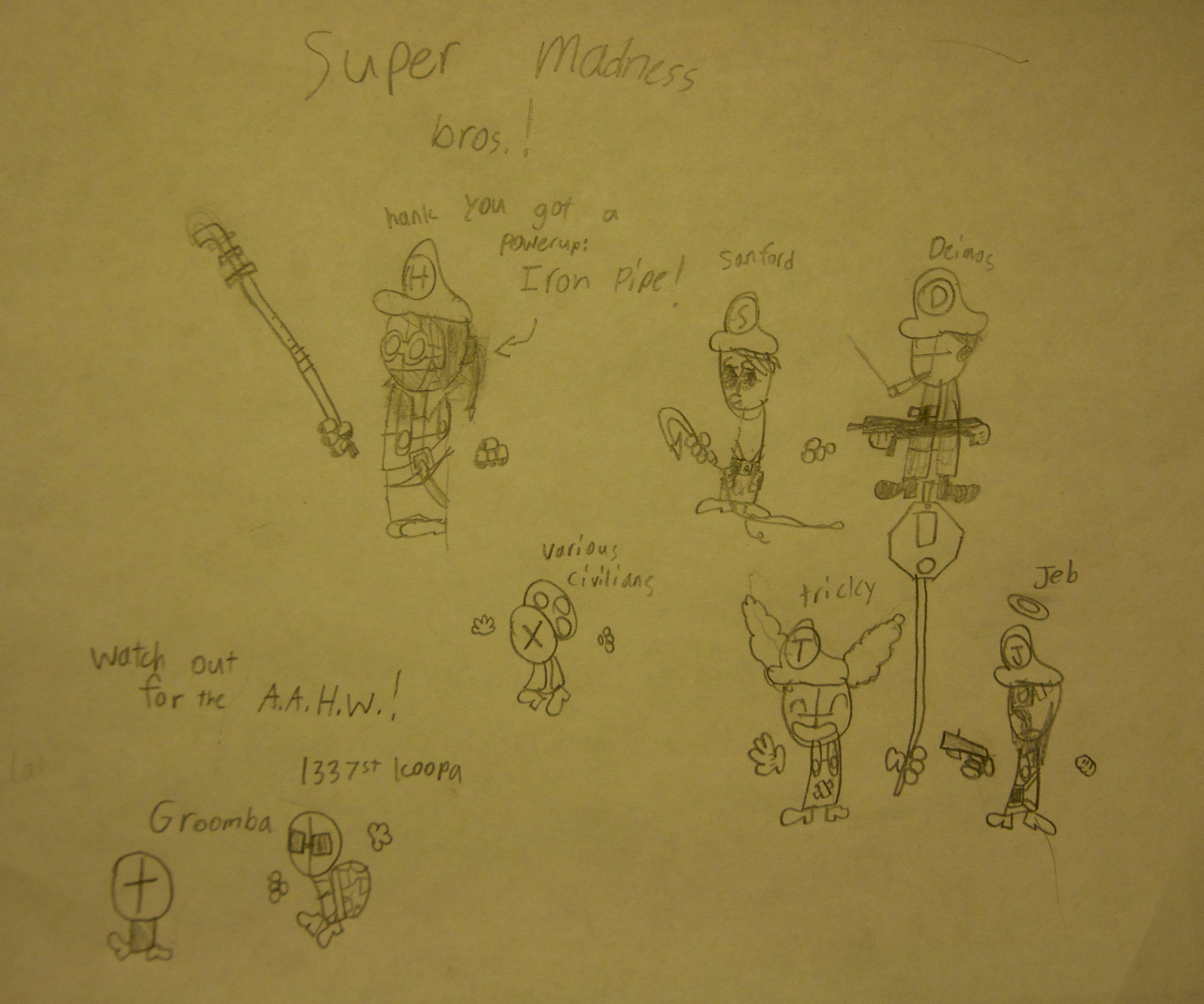 Super Madness Bros.