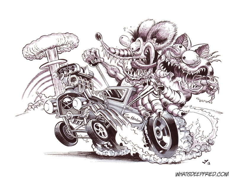 Rat Fink and the Garf