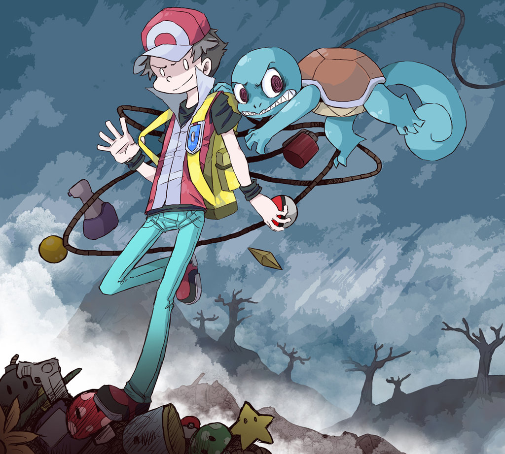 Red and Squirtle