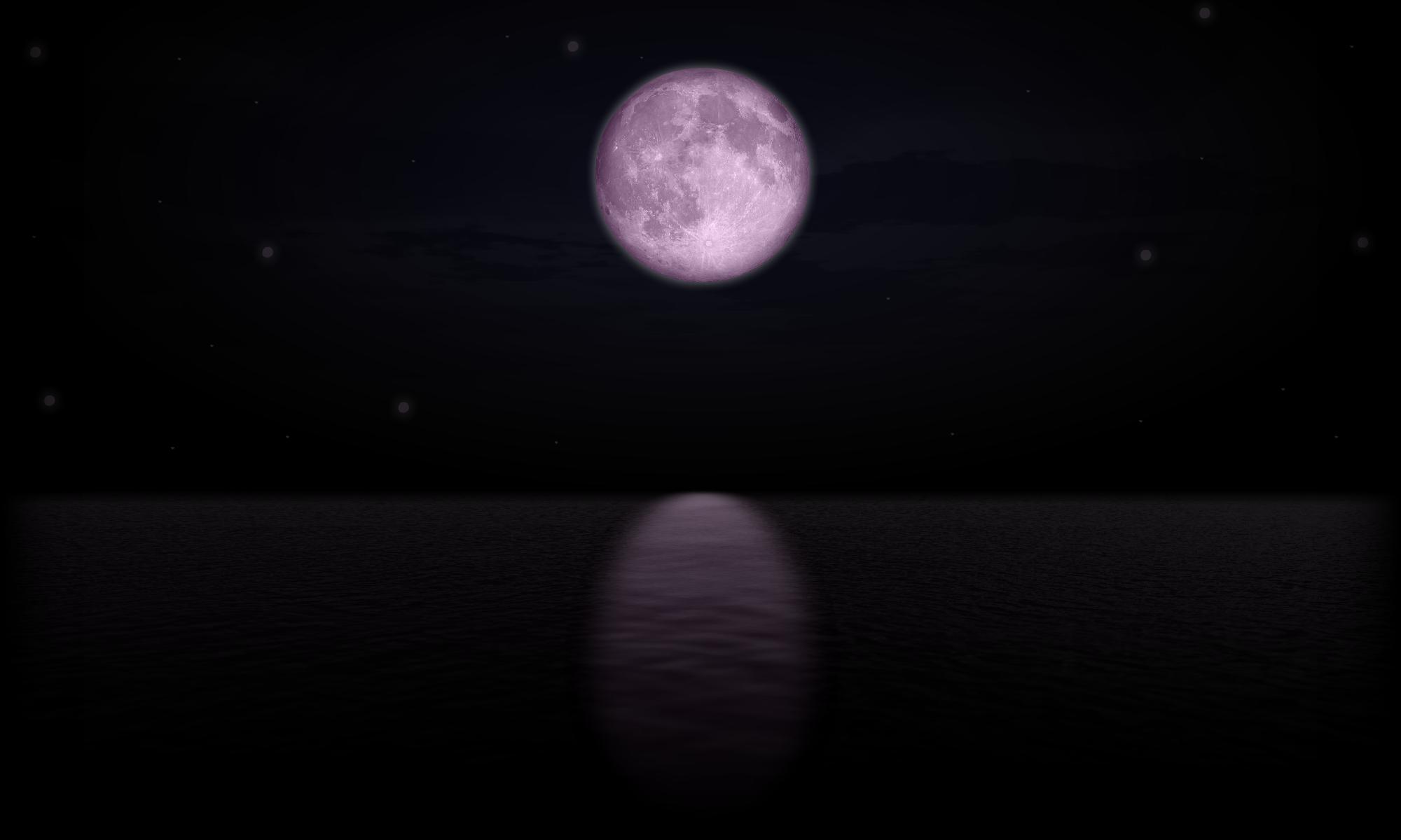 Ocean + Moon + Photo Editing