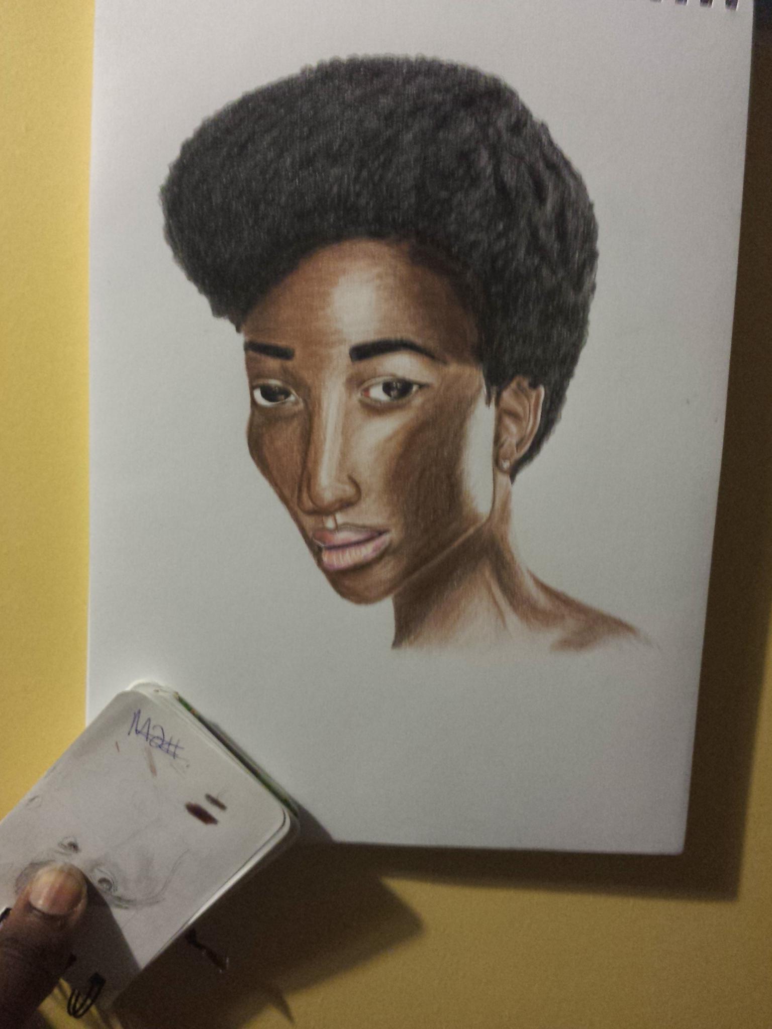 Beautiful Black Lady