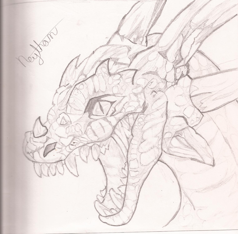 Drawn Dragon
