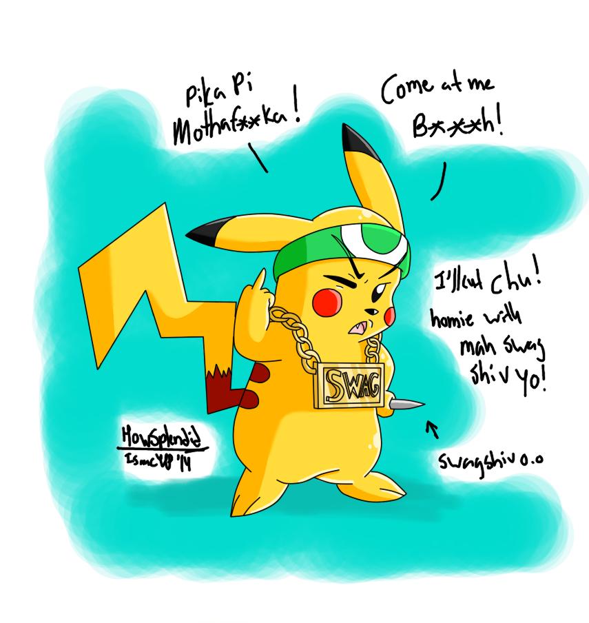 Swagalious pikachu 2 Digital