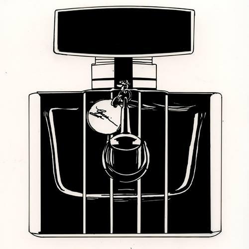 Gucci perfume bottle