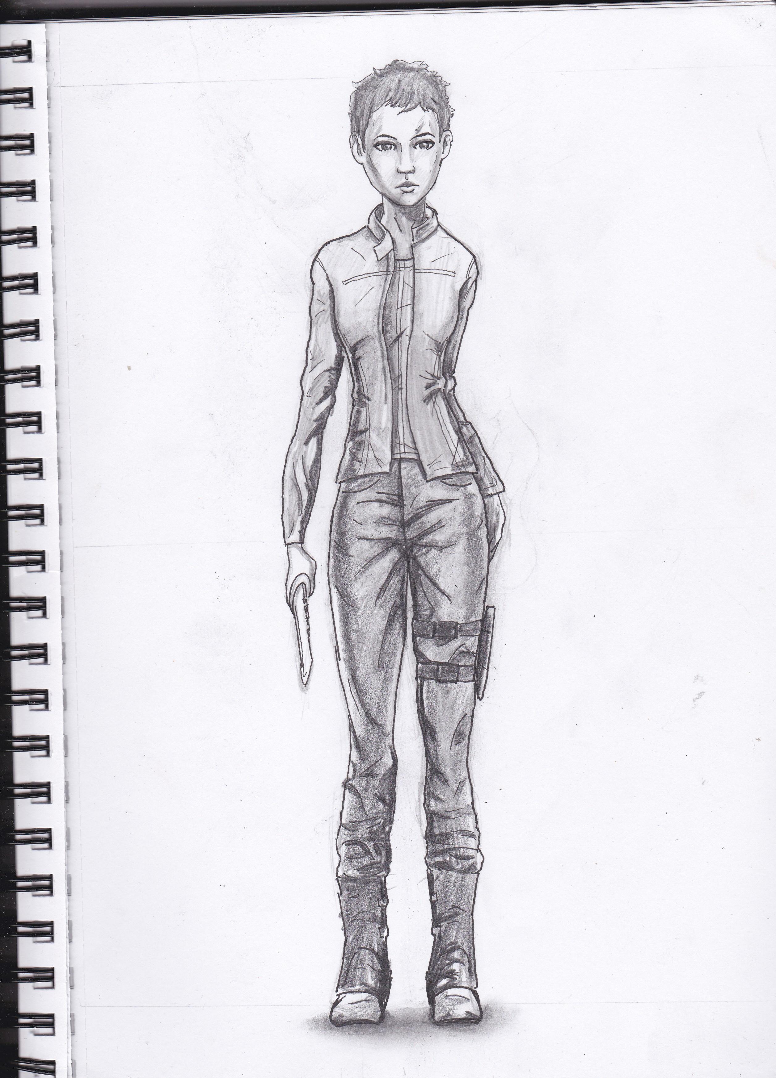 Jane - The Walking Dead