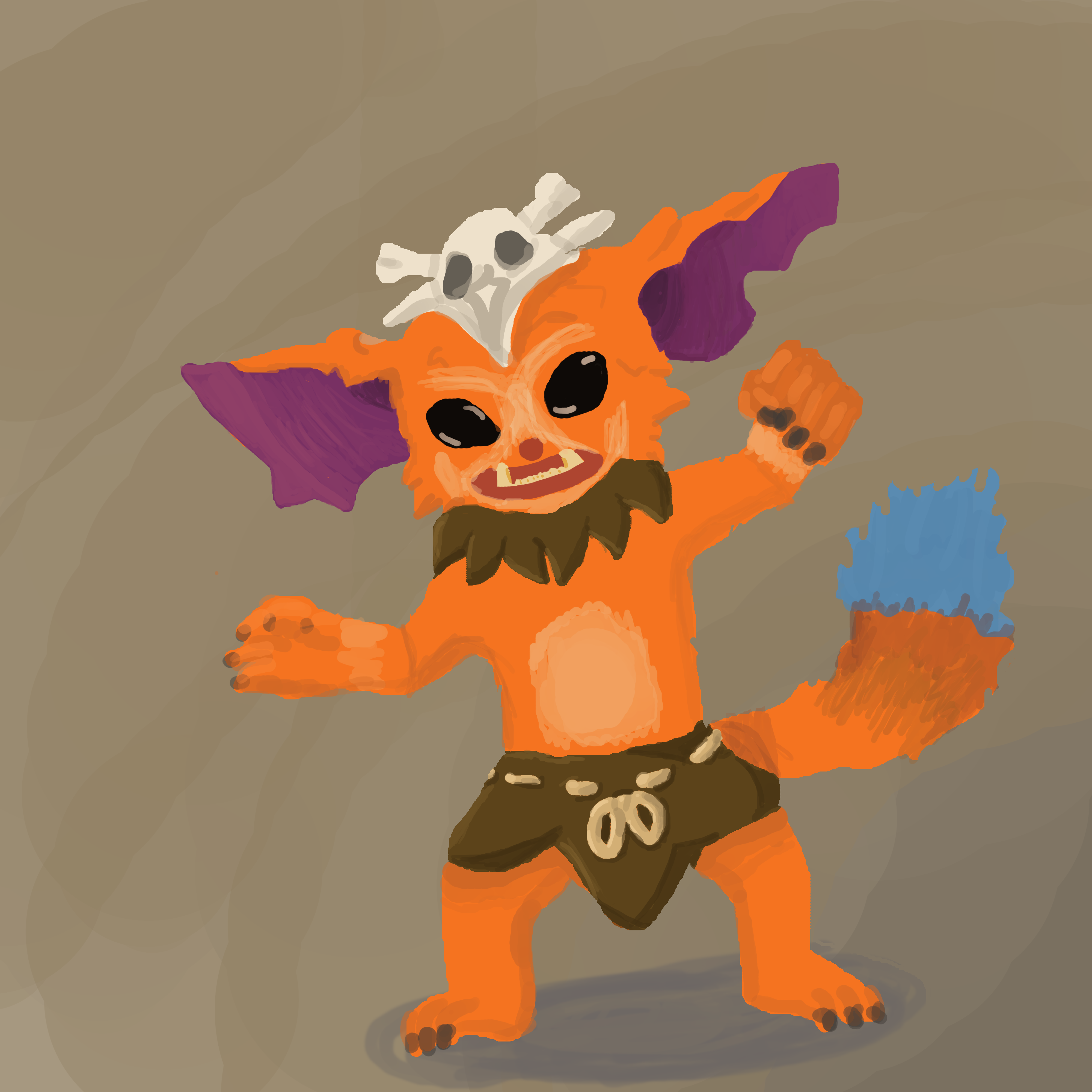 Gnar: League of Legends Fanart