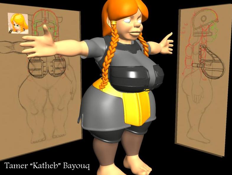 Darynara Emberstone 3D