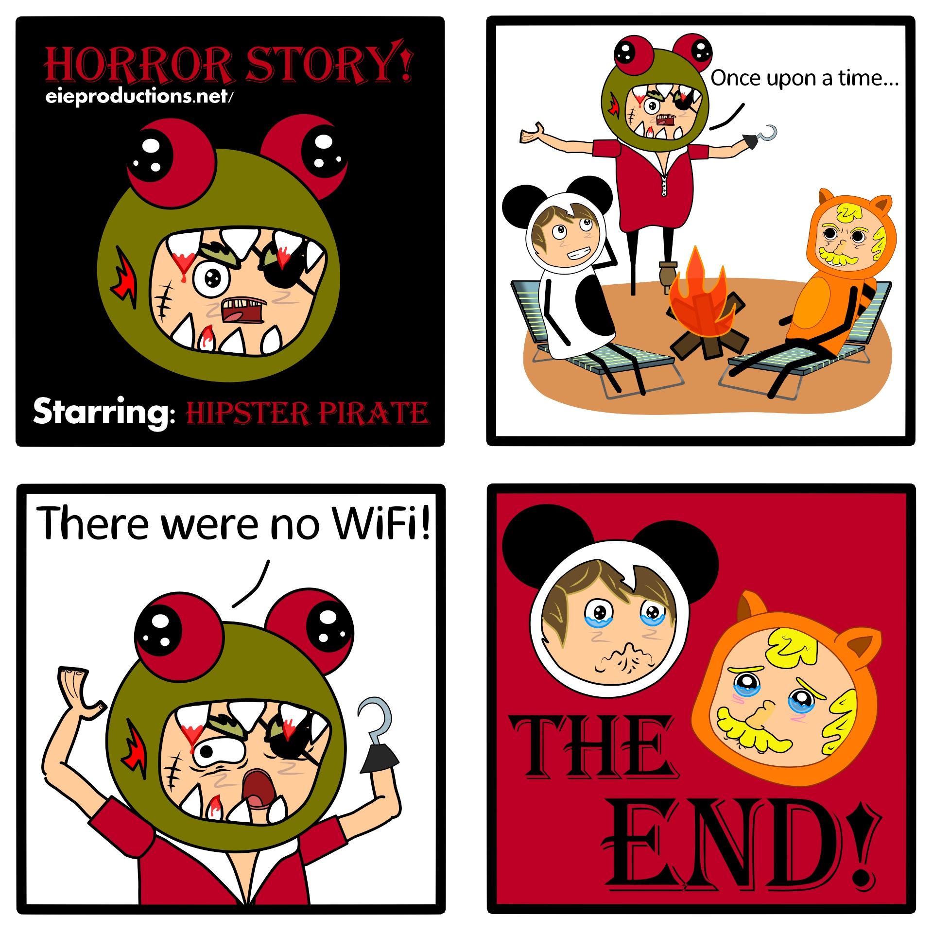 HorrorStory! - ComicStrip (#1)
