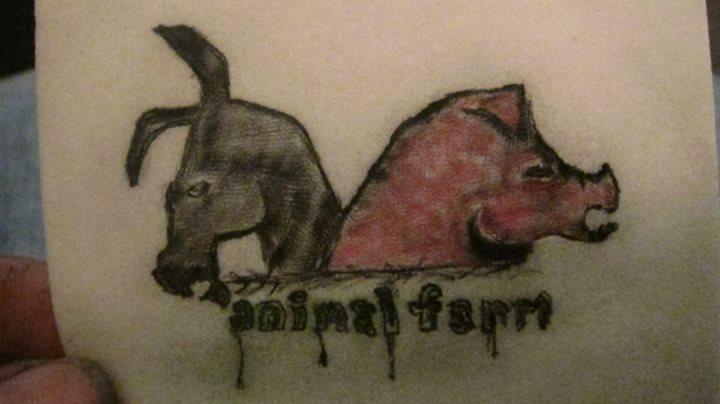 Animal Farm Tattoo