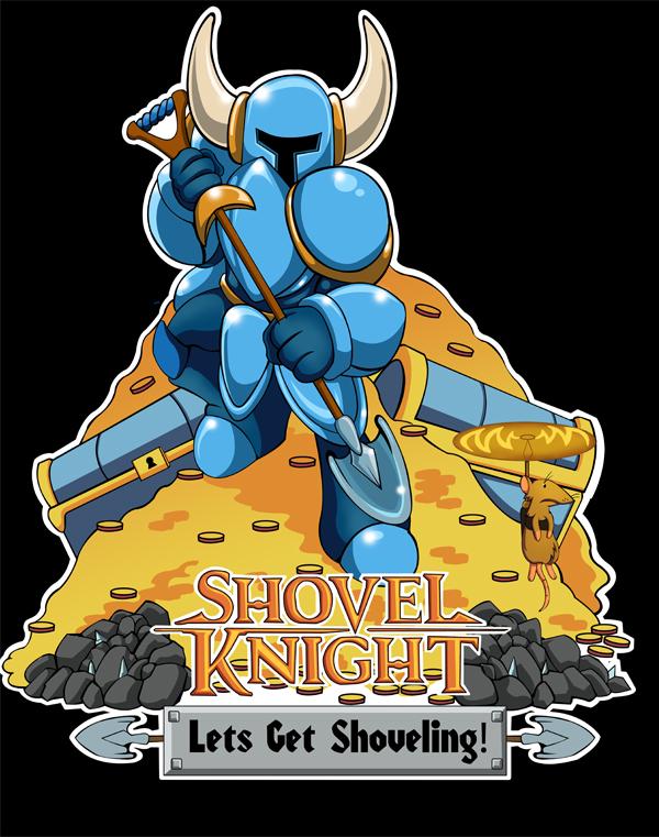 Let's get shoveling