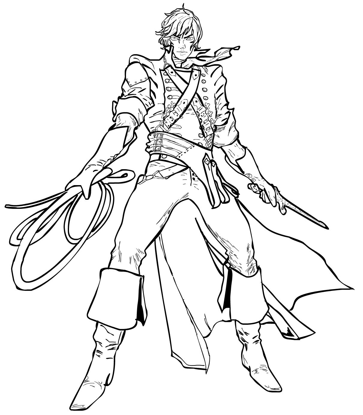 Richter Belmont Sketch