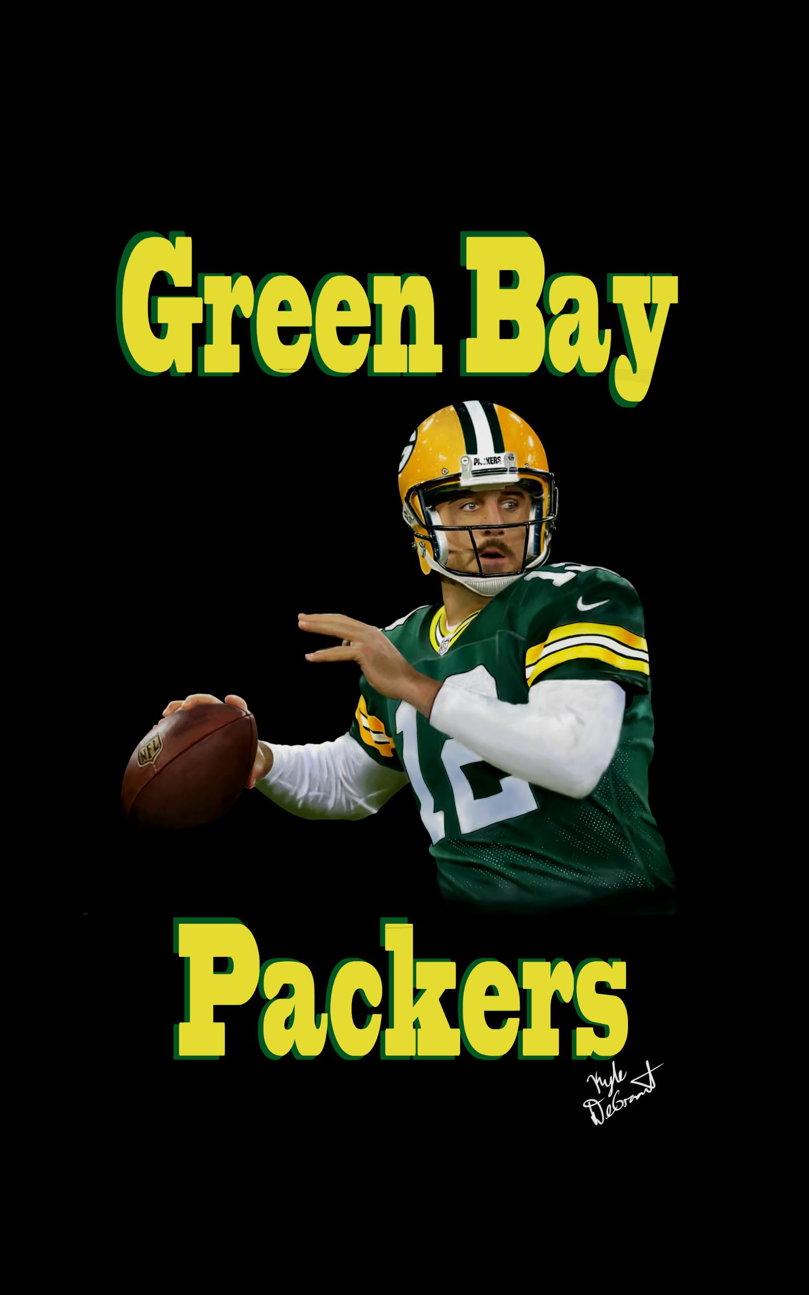 Aaron Rogers Green Bay Packers