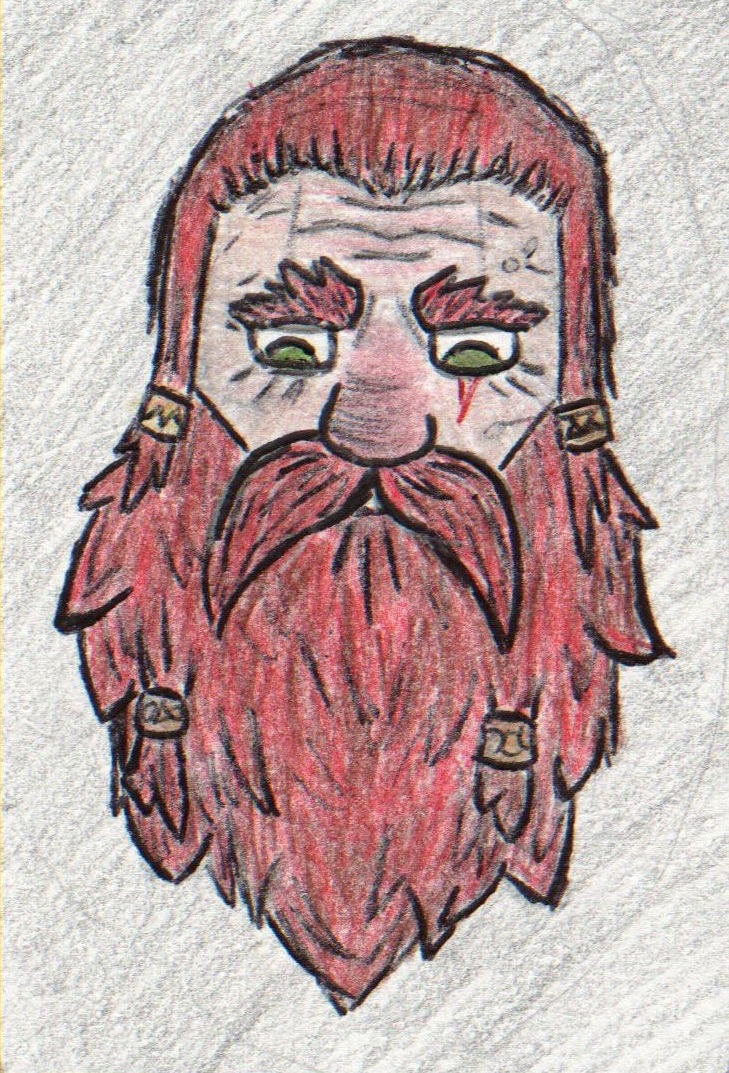 Red Haired Dwarf
