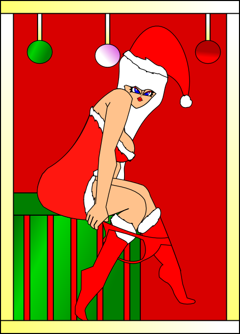 Naughty ms Claus