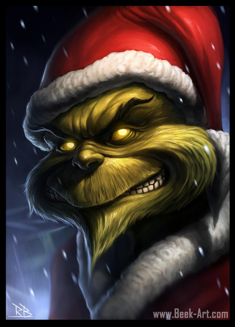 The Grinch re-designed
