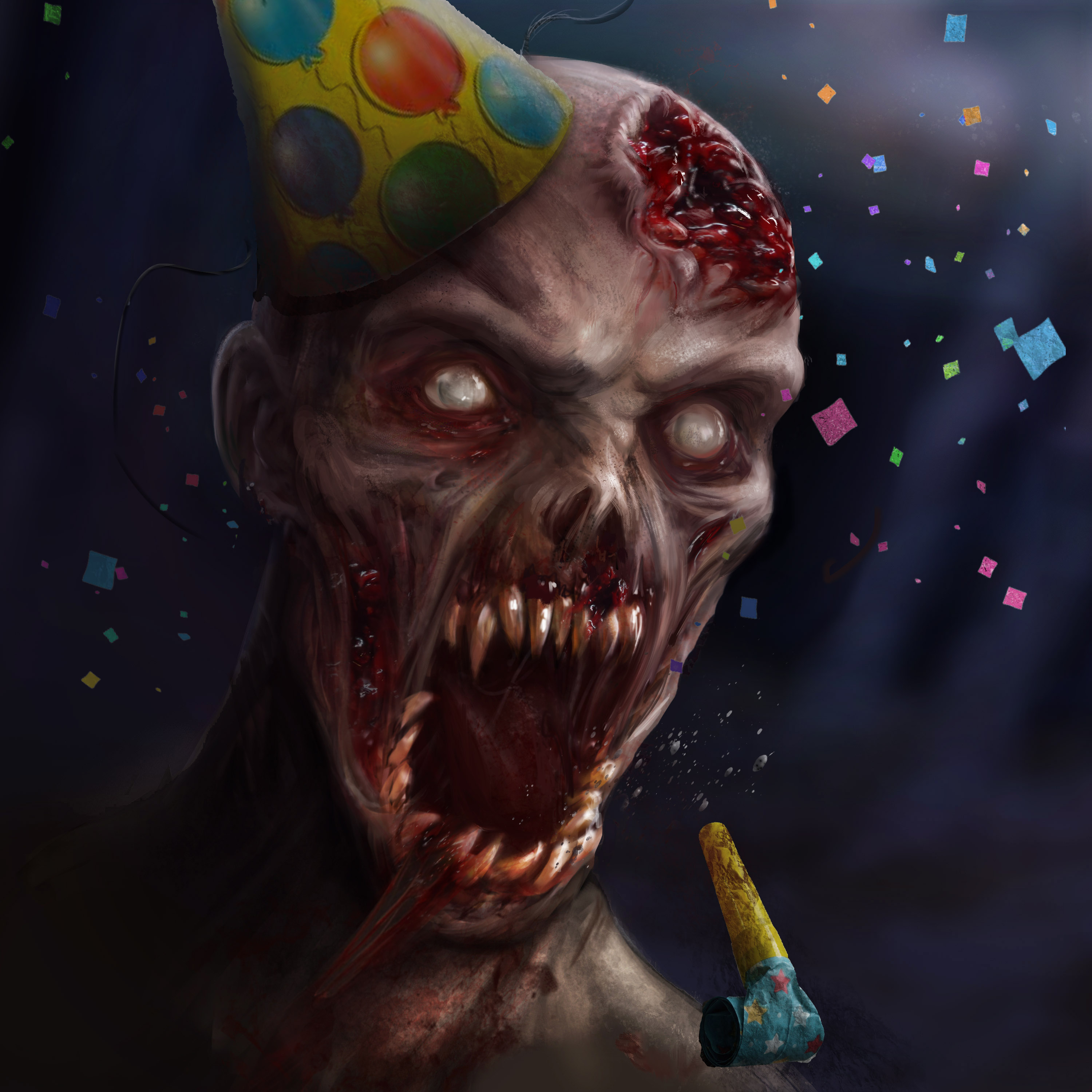 Party zombie