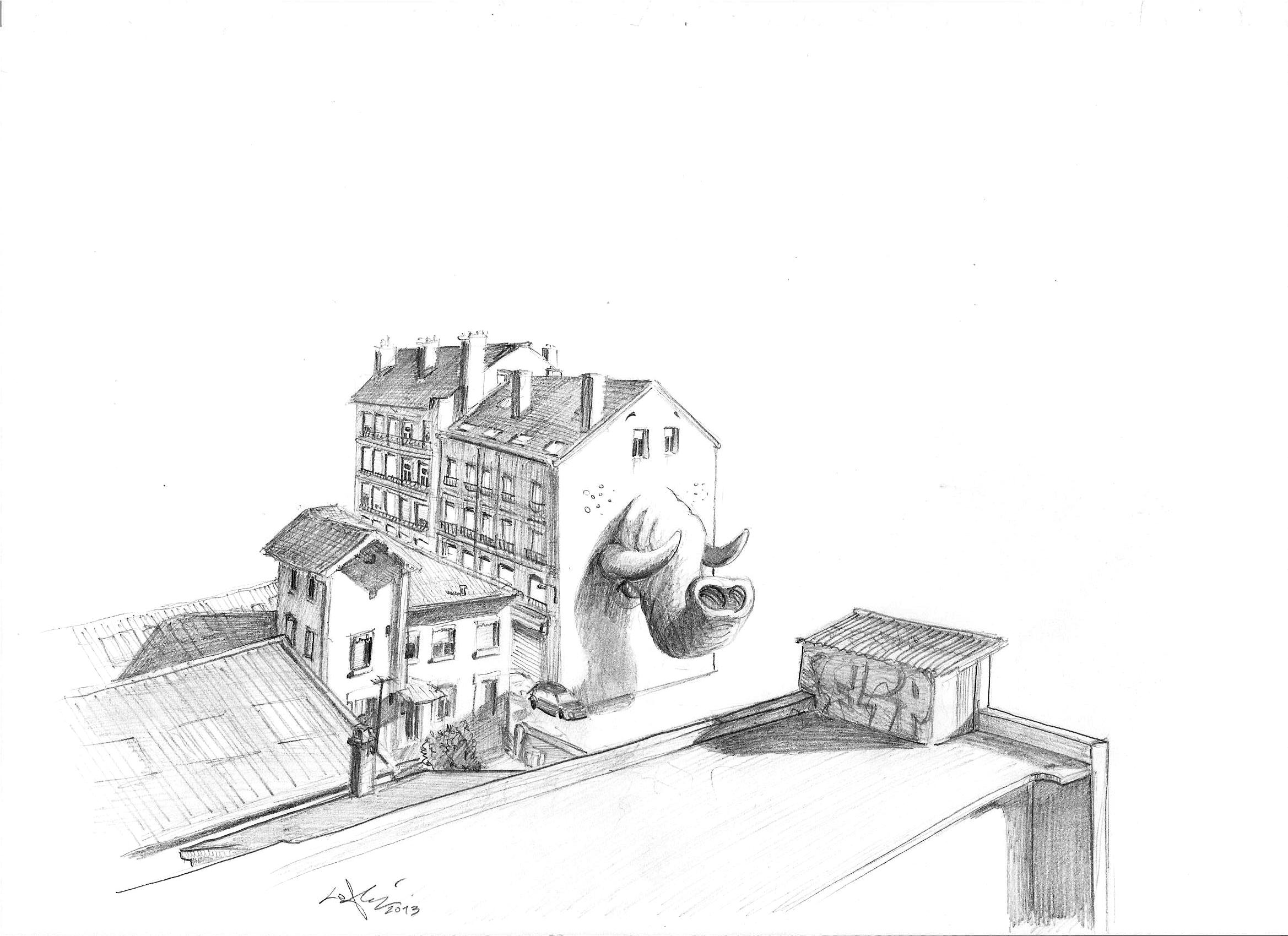 elephant in Lyon
