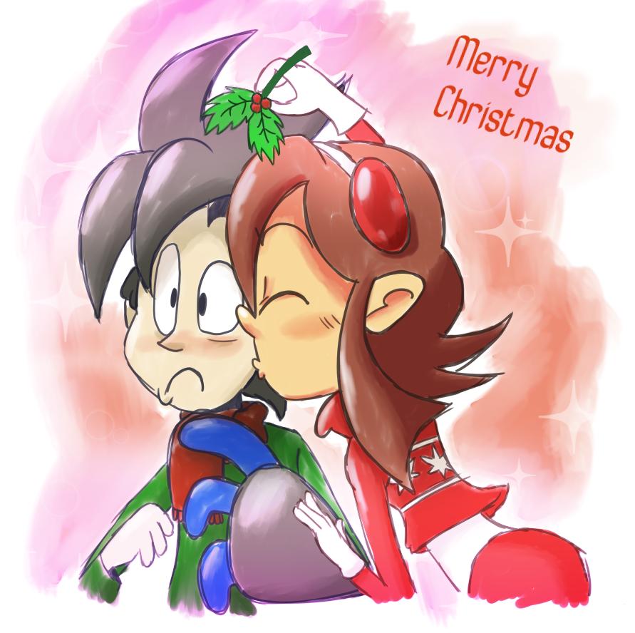 Sig and Tessa Christmas 2014