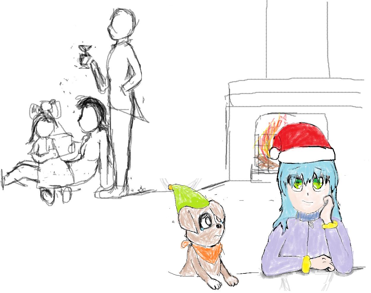 Peeve on every Christmas Eve.