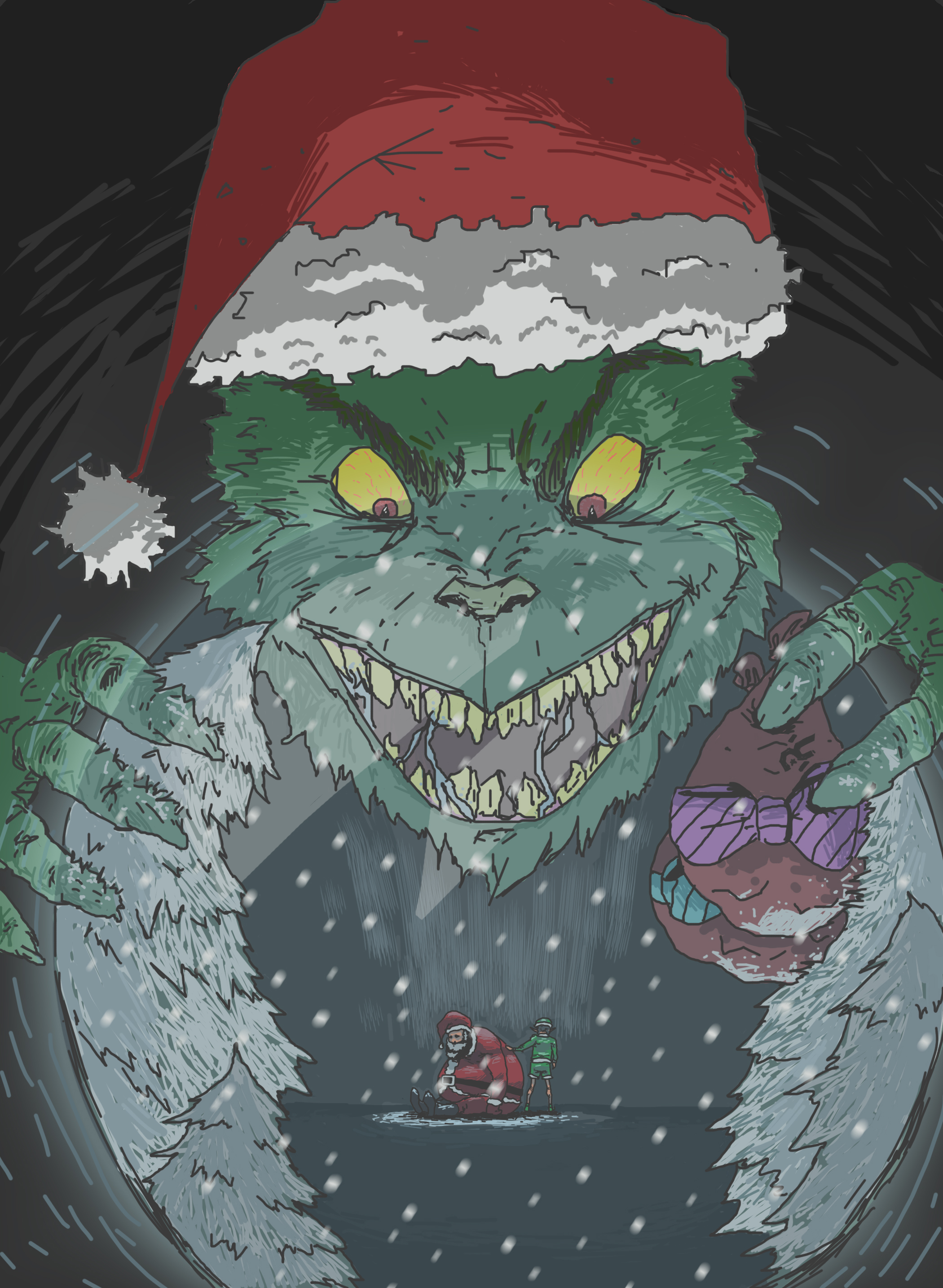 The Grinch:BYE BYE CHRISTMAS