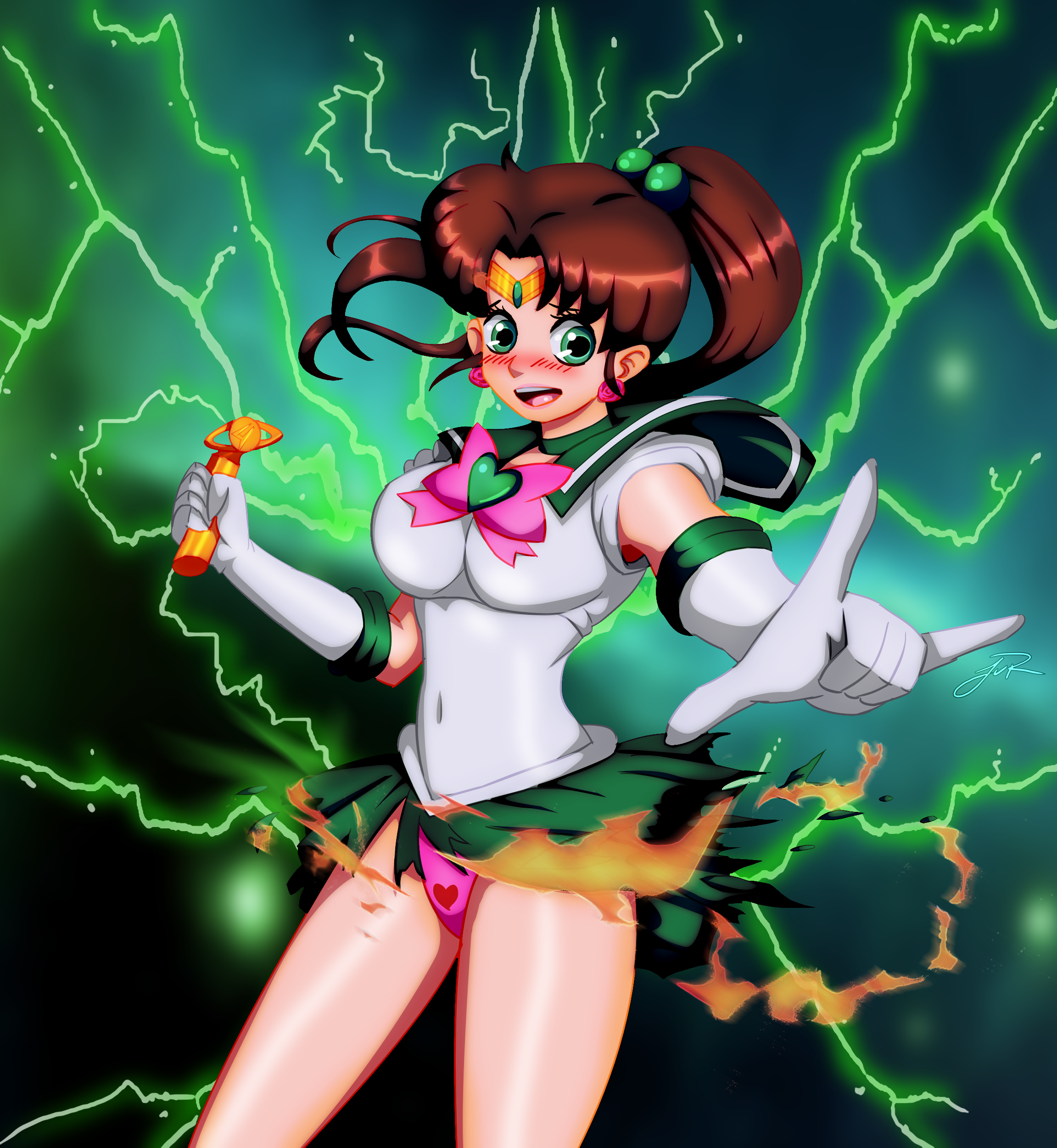 sailor jupiter blooper