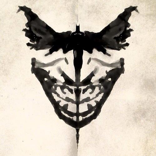 THE BATMAN AND CLOWN