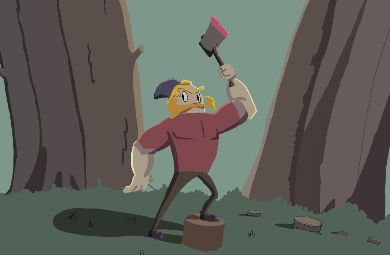Stylish Lumberjack