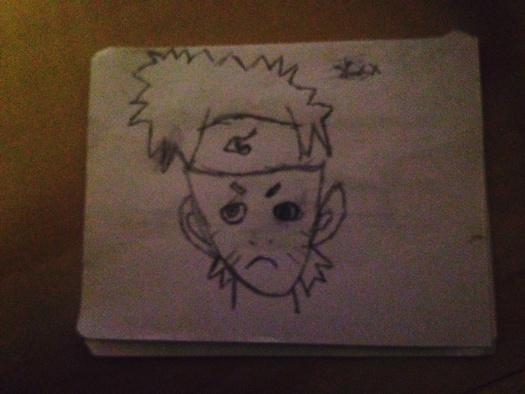 HORRIBLE Naruto Drawing
