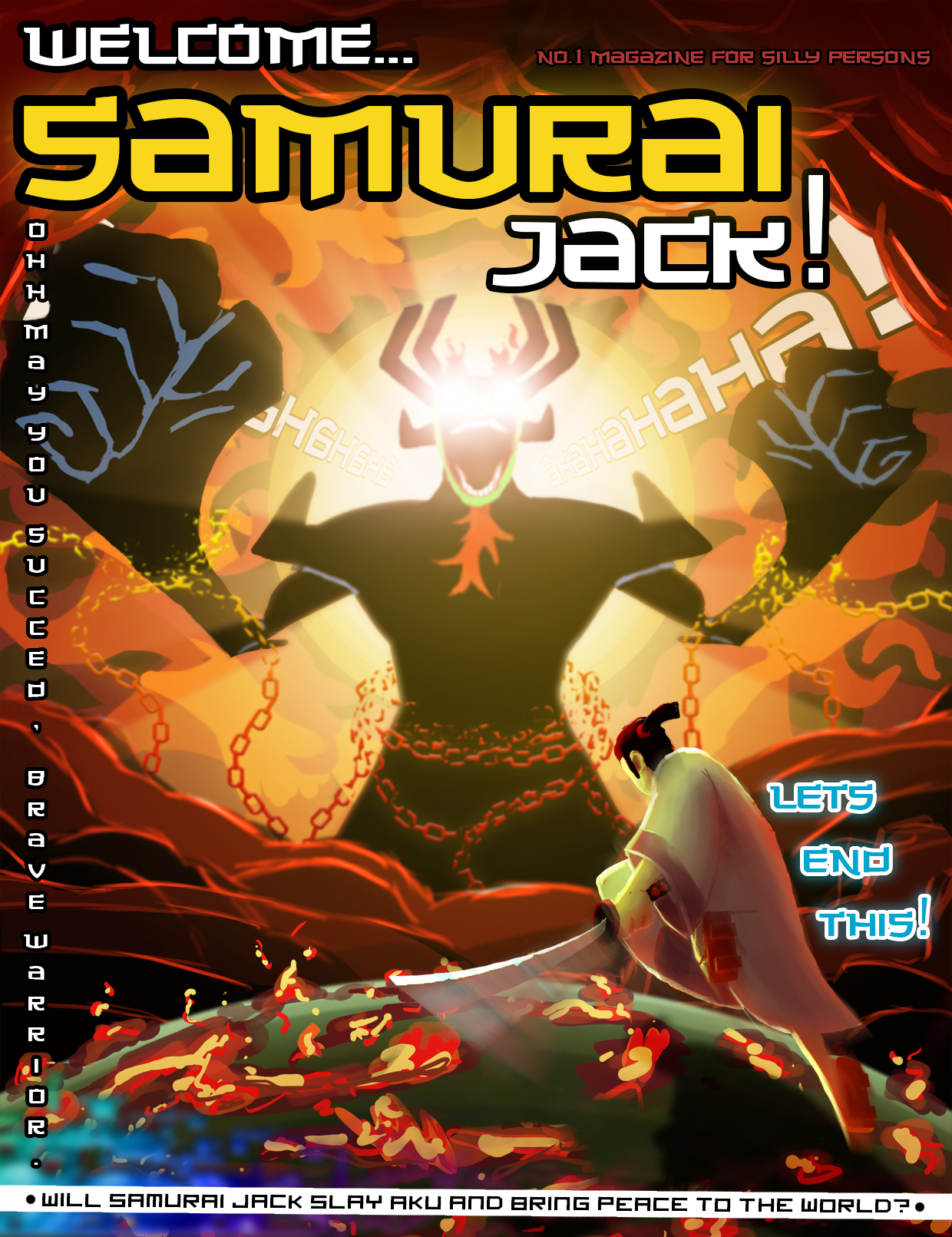 Welcome... Samurai Jack!
