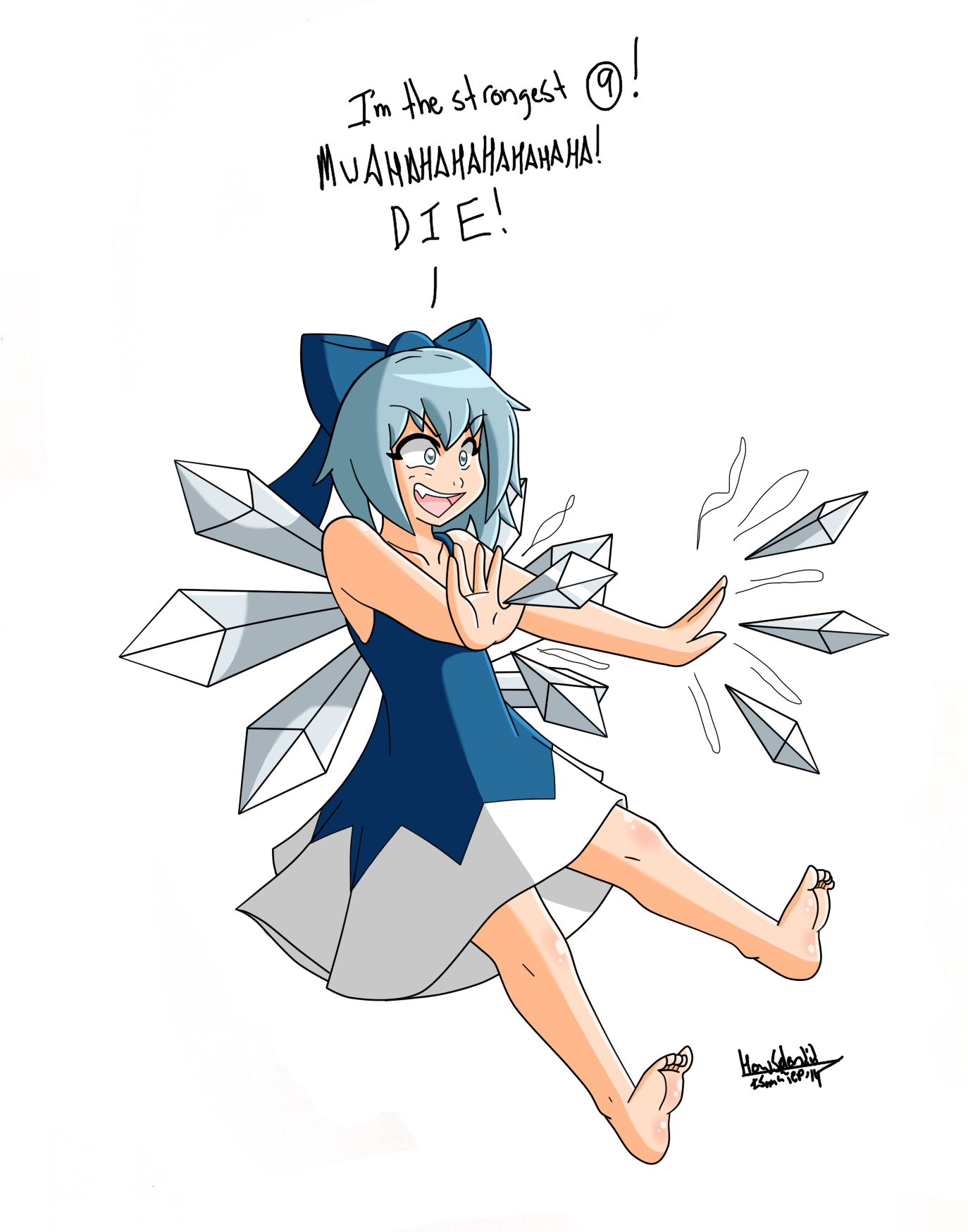 Cirno the strongest digital