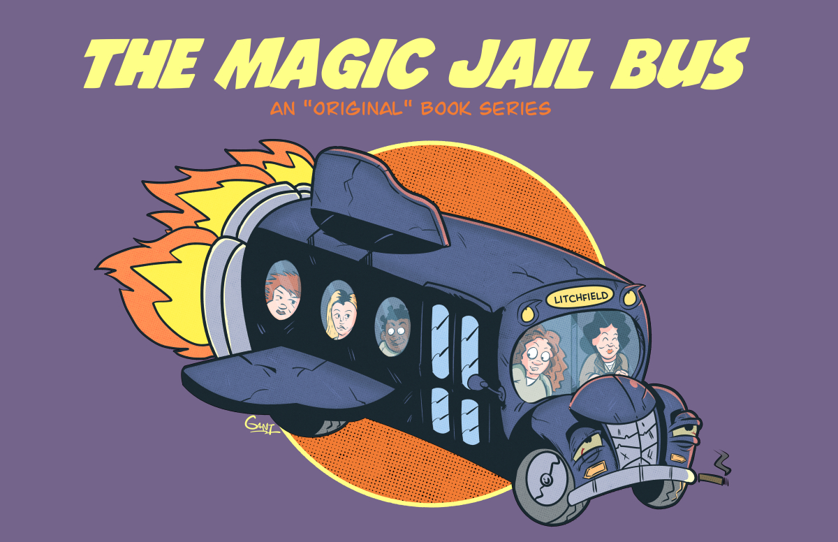 The Magic Jail Bus
