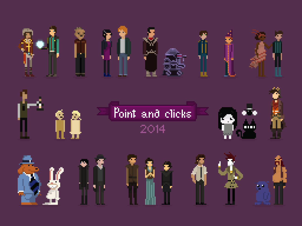 Point and Clicks 2014
