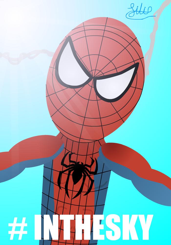Spider Man Super-Selfie