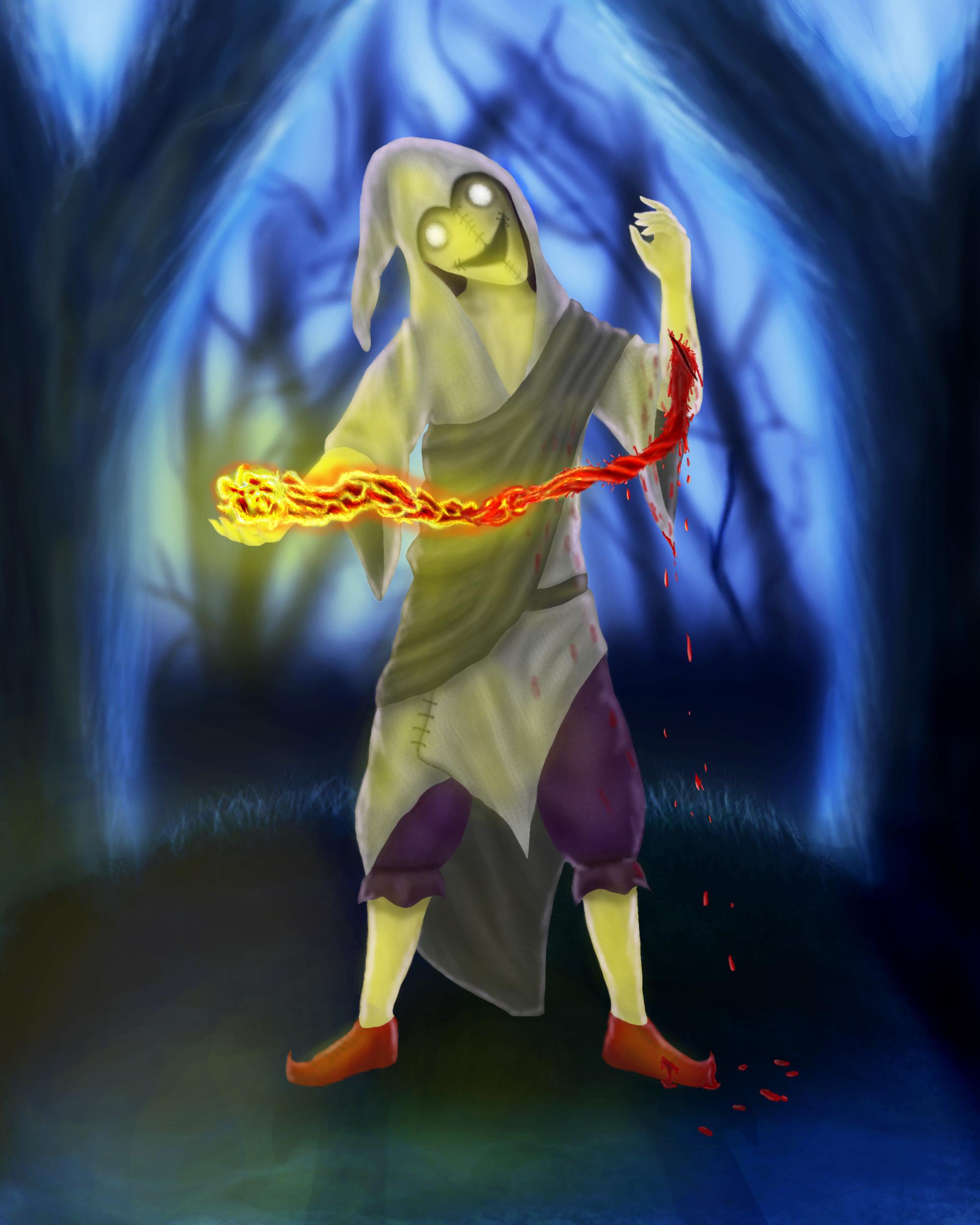 blood warlock guy