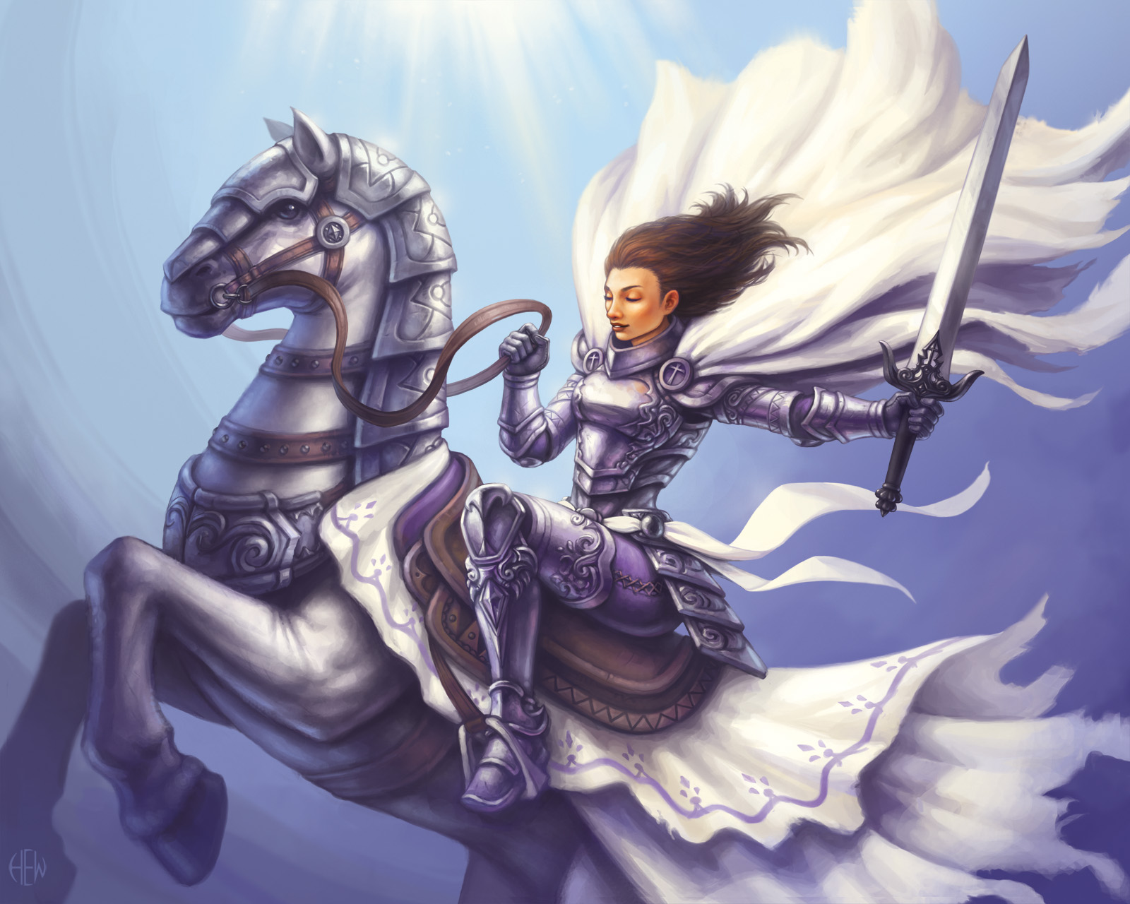 Jocelyn, the Holy Knight