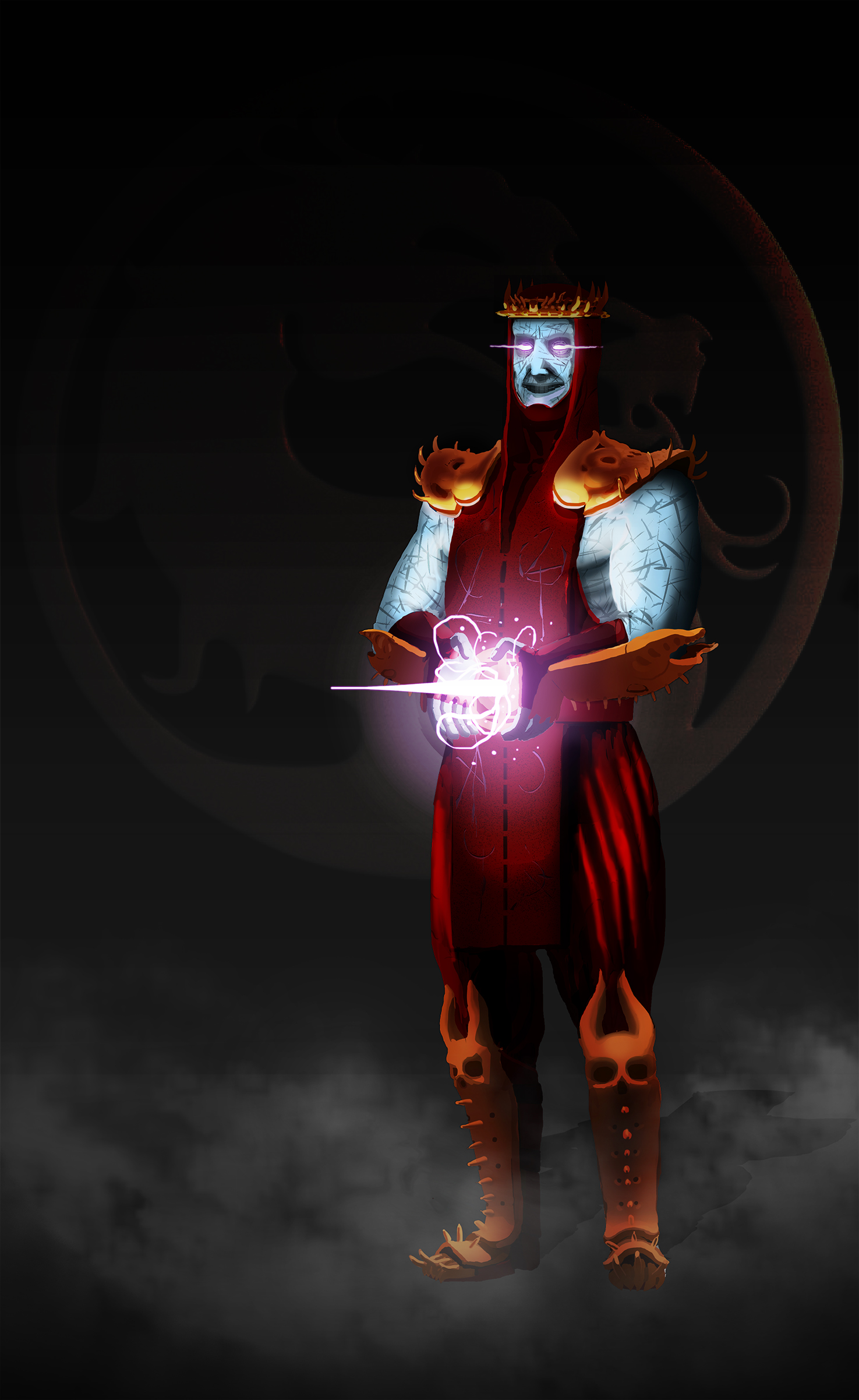 Shinnok redesign for mkX